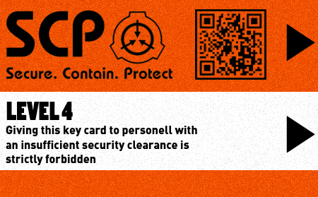 SCP Foundation Key Cards : SCP